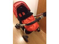 Mothercare Spin Pram and Pushchair for sale only £80