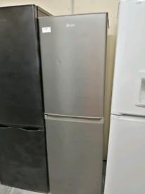 Swan Fridge freezer silver with warranty at Recyk Appliances