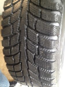 SET OF 4 TECHNO  WINTER TIRES 195/60/15