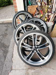 Selling MSR 20 inch rims with tires