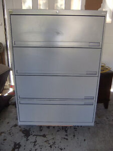 4 DRAWER LATERAL FILE CABINET legal or letter size