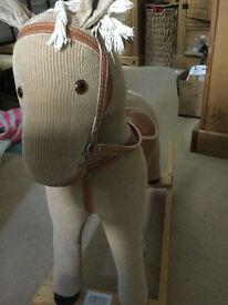 Adorable rocking horse in excellent condition