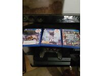 Ps4 +3games one controller