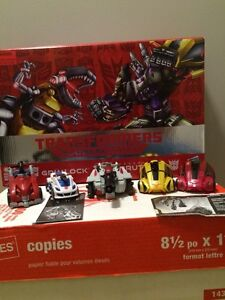 Transformers video game figures. Figures added!