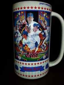 Beer Stein / Baseball Cards