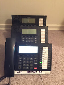 Toshiba DP phones Business Telephone System