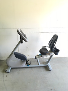 Almost New Precor RBK 615 Commercial Recumbent Bike for sale!