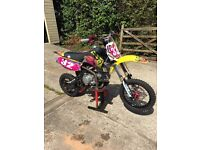 SLAM MXR pit bike 160