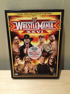 WWE WRESTLEMANIA 26 DVD