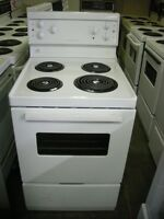 APARTMENT SIZE STOVE WITH RANGE HOOD