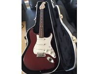 2007 Fender American Standard Stratocaster with hard case