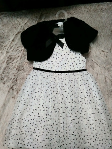 2T Dress with vest & tights