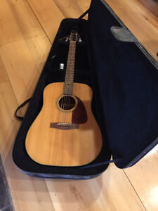 Fender Model F219S Acoustic Guitar and Case