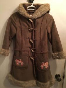 Manteau long pour fille 8 ans