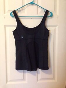Lulu Lemon Black Tank