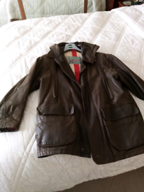 Men's leathercoat
