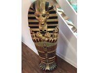 Egyptian mummy wooden cd cabinet