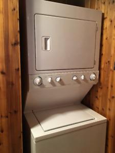 Stackable Frigidaire washer dryer