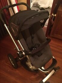 Quinny buzz with carry cot and seat
