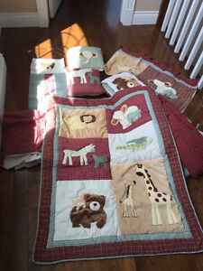 Beautiful Crib bedding set from Etsy