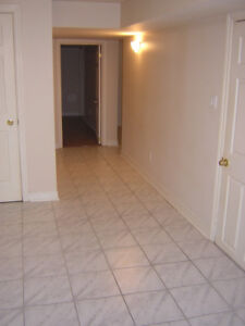 Renovated Basement- $900 for a small family or 2 Professionals