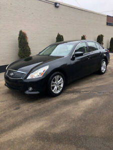 2012 Infiniti G37x All Wheel Drive Loaded