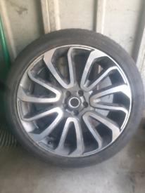 Range rover vogue 2014 genuine turbine alloy wheel