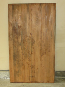 Solid wood TABLE TOP- Harvest table