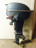 25 hp 1954 Evinrude Big Twin Outboard engine