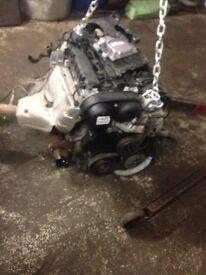 Ford Focus 2013 1.6 iqdb engine and gear box
