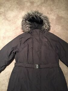Woman's North Face Winter jacket XL grey like new Kitchener / Waterloo Kitchener Area image 2