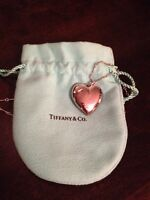 Authentic Tiffany heart necklace
