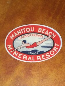 Old MANITOU BEACH & WATROUS SASKATCHEWAN Items WANTED!