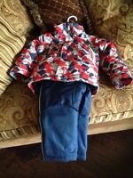 2T thinsulated winter coat and snowpants