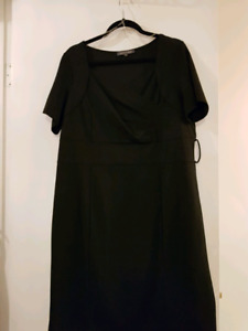Women's Black Dress - size 1x