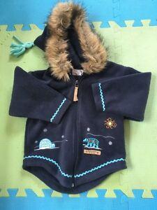Inuk jacket size 4T
