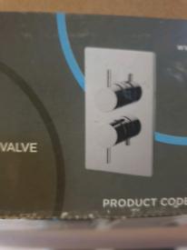 Iflo - Chrome concealed shower valve. Brand new