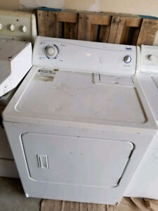 White  dryer working condition.