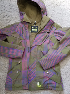 Burton Jacket- Special one, Made from recycled material Sz S