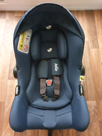 Mint Condition New Born to 30kg, 40-75cm. Joie Car Seat