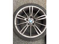 """18"""" Gun Metal Grey mv3 BMW Alloys"""
