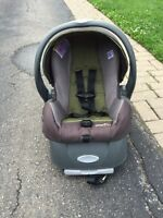 Evenflo Car seat and base for infants MUST GO!