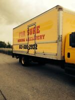 Mover for sure offer cheapest price Guranteed 613-606-2932