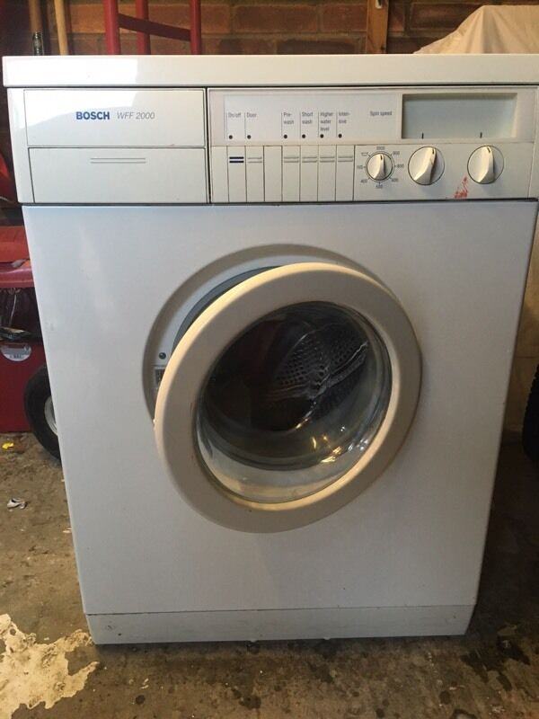 bosch wff 2000 washing machine in walton on the naze essex gumtree. Black Bedroom Furniture Sets. Home Design Ideas