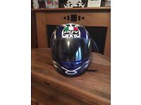 Mans AGV helmet