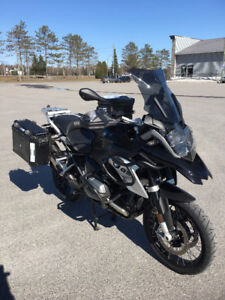 BMW R1200GS LC 2016 Tripple Black