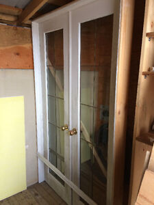 French Doors - Pick up in Terence Bay