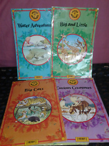 1992 World of Animals box set, 4 super size books made in Italy