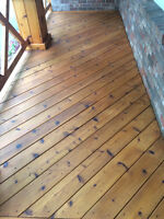 Assistant deck stainer - Female or male