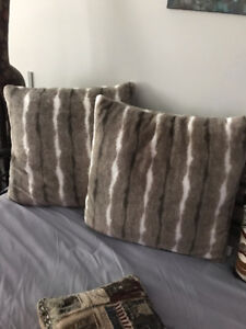 Decorative Pillows: $30 for set of 2